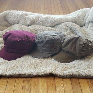 Accessories - Bundle of Page Boy Hats